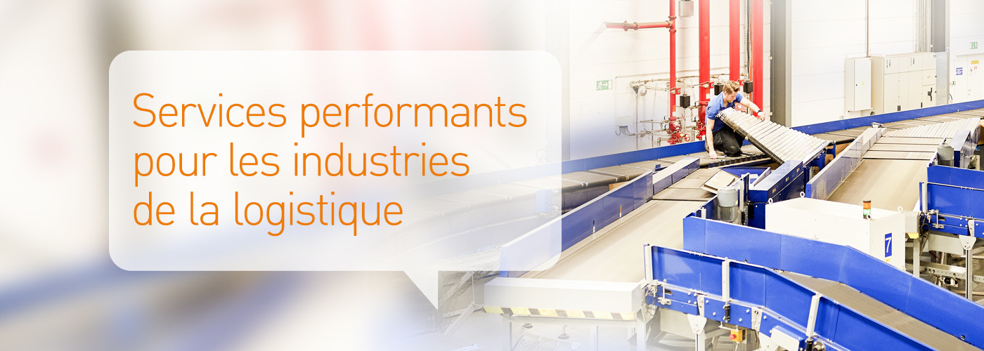 Solystic - Maintenance - Services performants pour les industries de la logistique